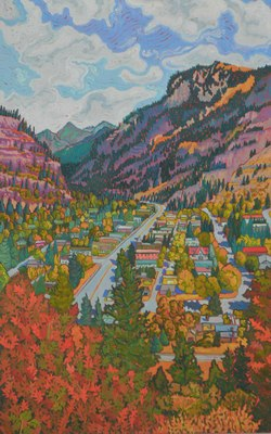 OURAY FROM ABOVE